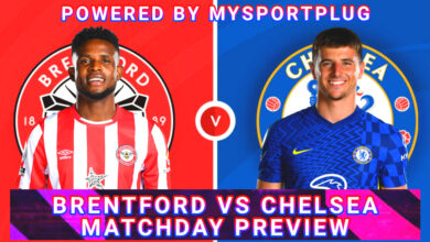 Brentford Vs Chelsea Matchday Preview | Injury Update, Lineup, Formation And Kickoff Time