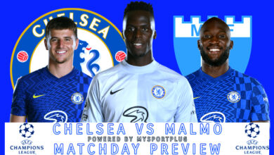 Chelsea Vs Malmo Matchday Preview | Injury Update, Lineup, Formation And Kickoff Time